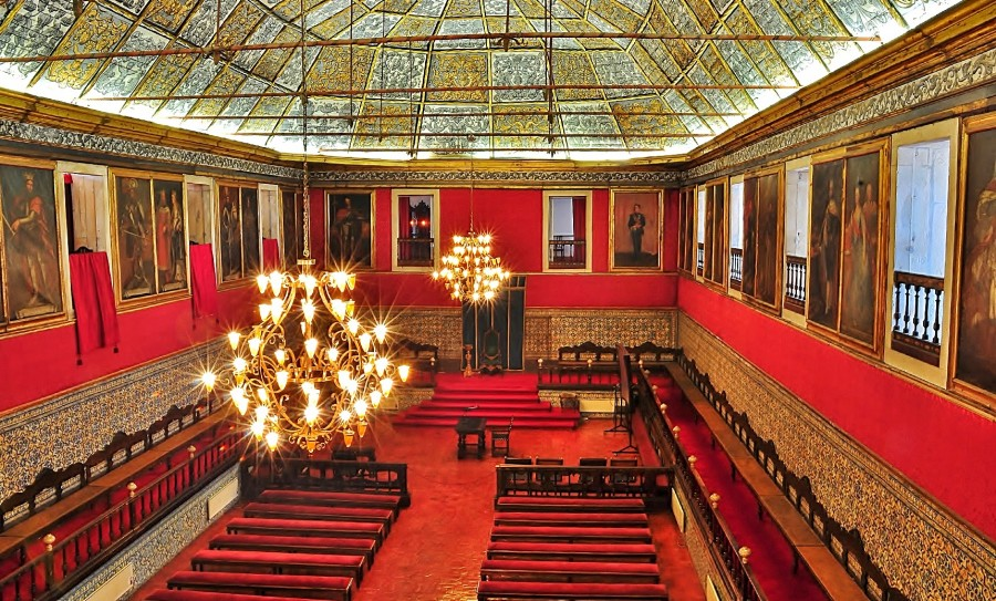Sala dos Capelos da Universidade de Coimbra