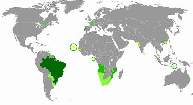 Idiomas de origem portuguesa