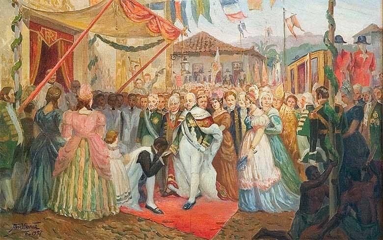 Chegada da família Real ao Brasil