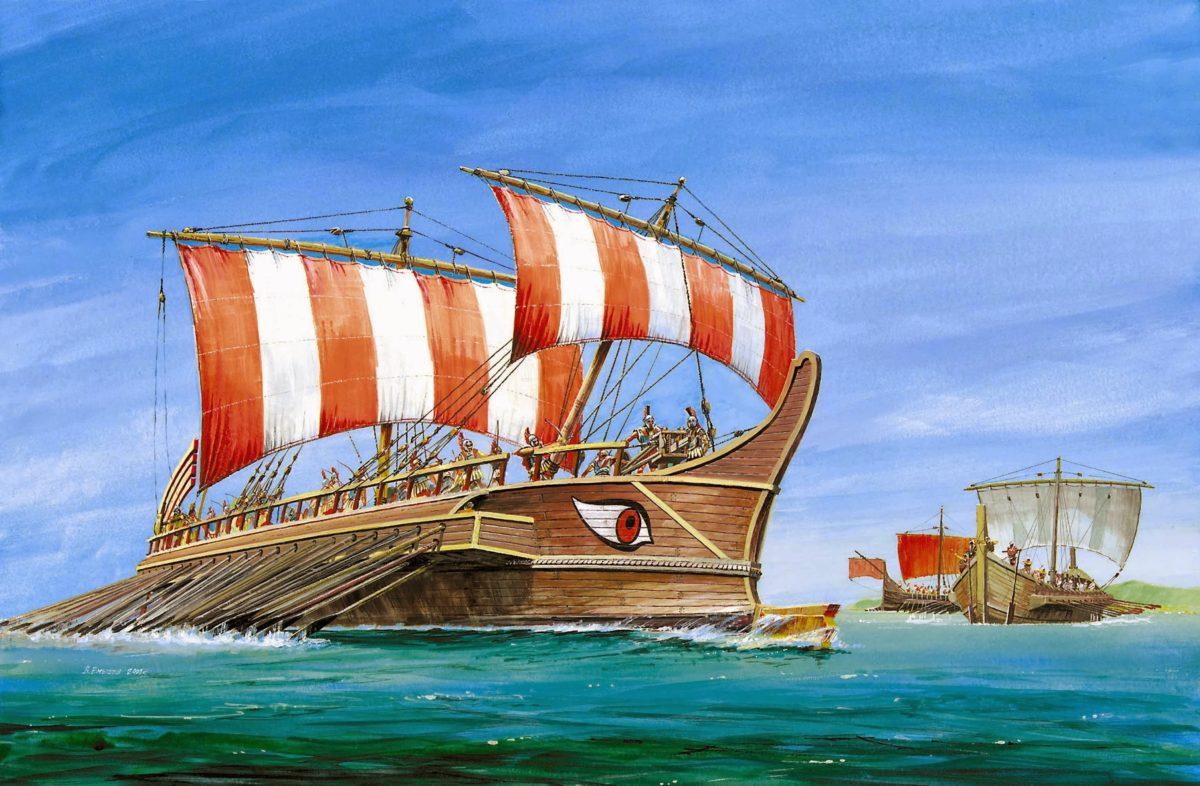 Navio Grego