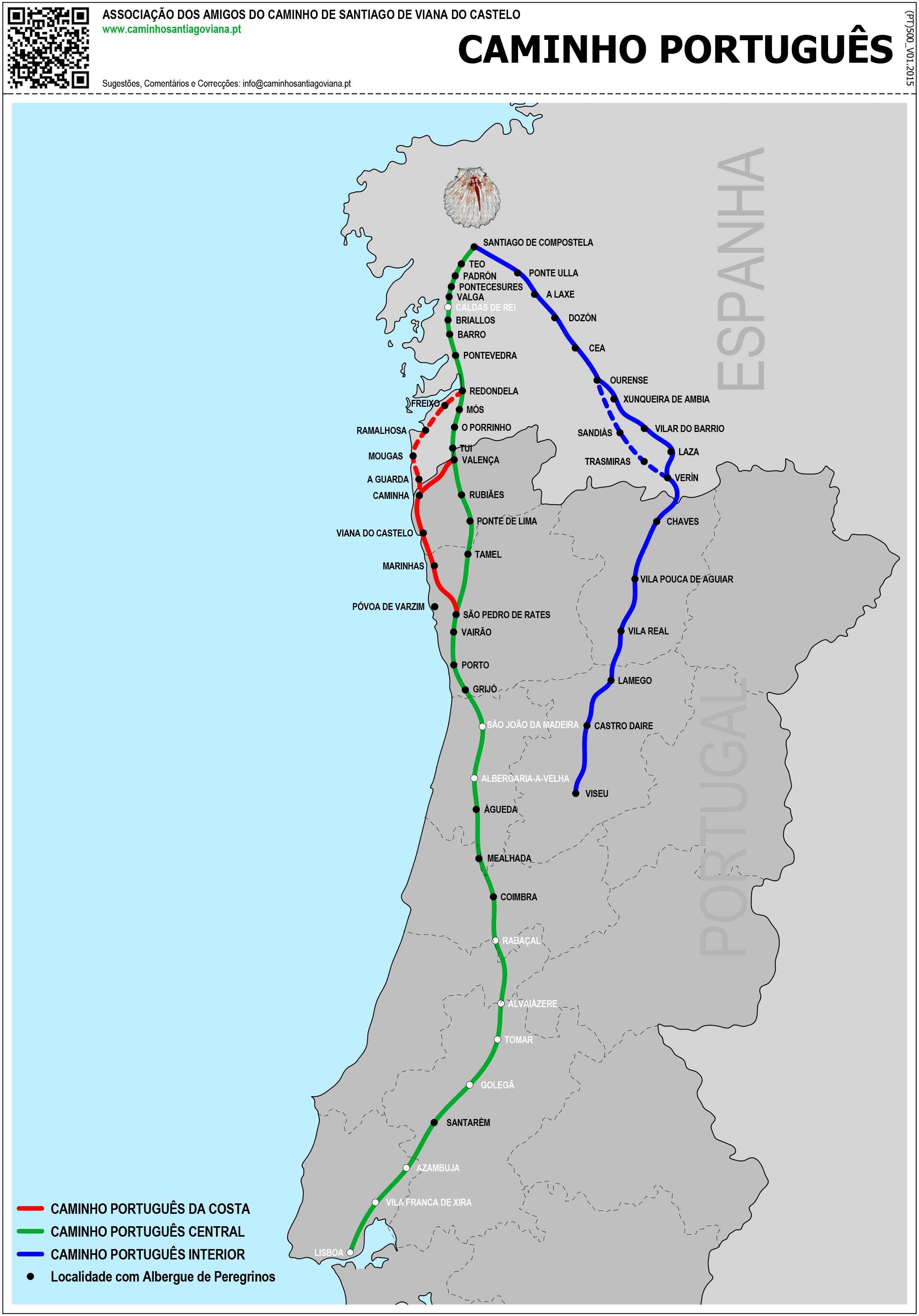 Caminhos Portugueses de Santiago