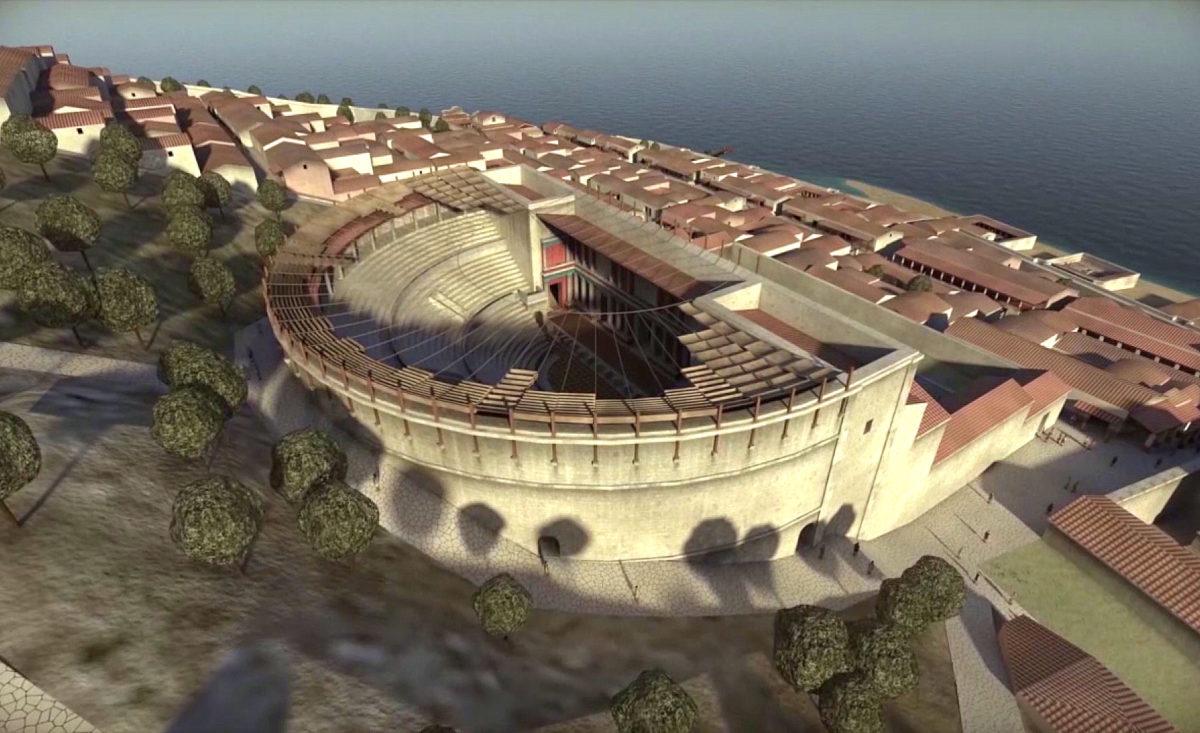 Ruínas do teatro Romano de Lisboa