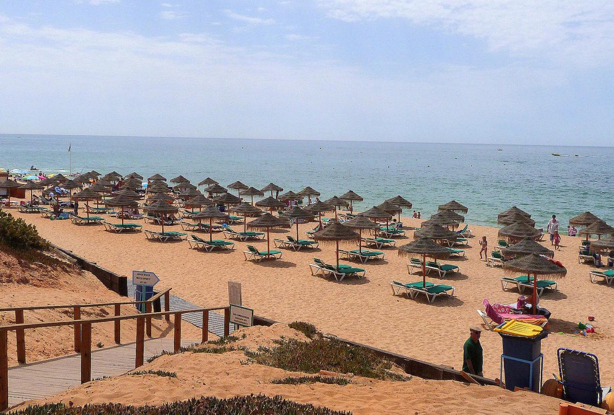Praia do Garrão Poente