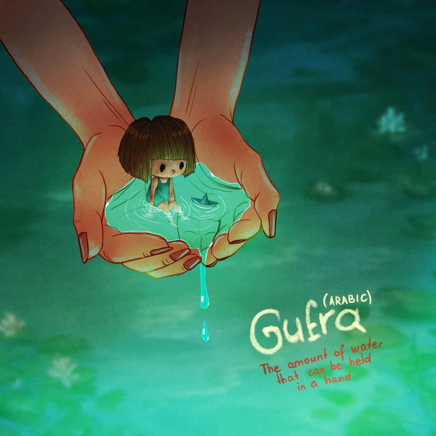 Gufra, Árabe
