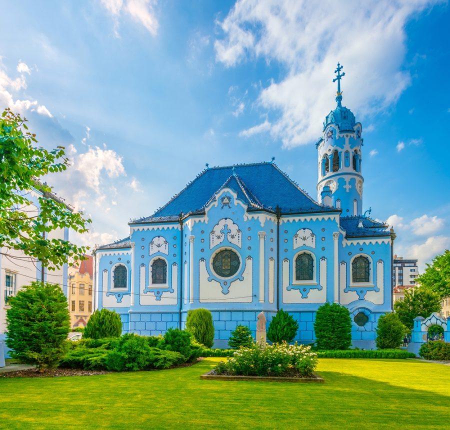 Igreja de Santa Isabel (Igreja Azul)