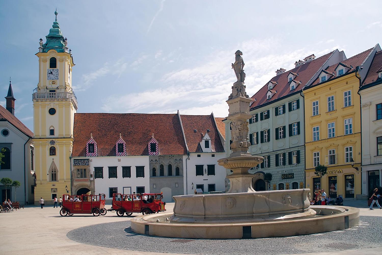 Centro histórico de Bratislava
