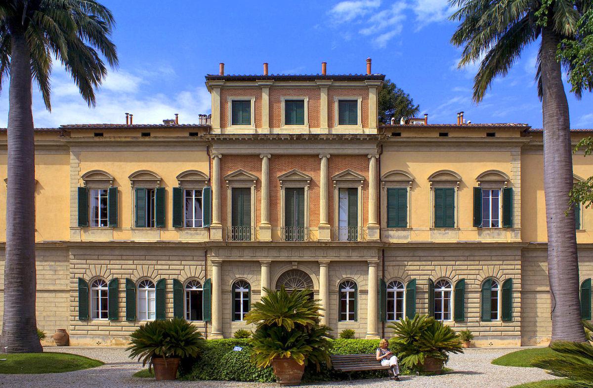 Jardins botânicos de Pisa