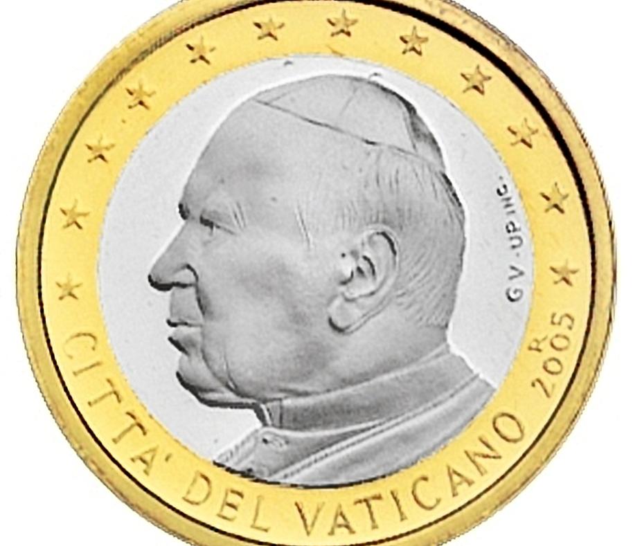 Vaticano (2005): 72 euros