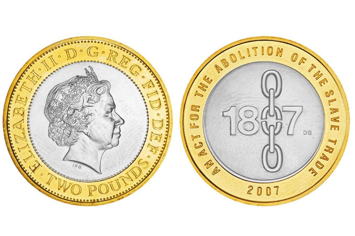 most common coin in circulation uk