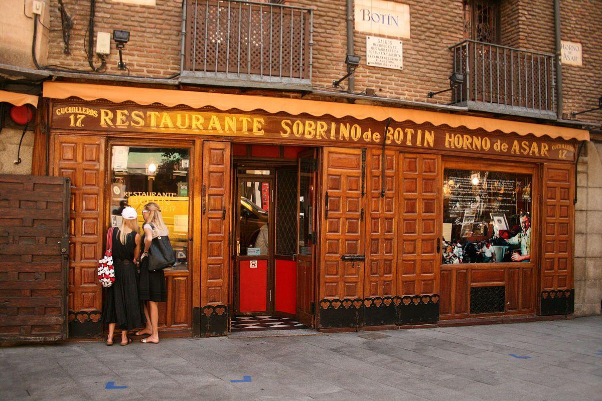 Sobrino de Botín, Madrid, Espanha