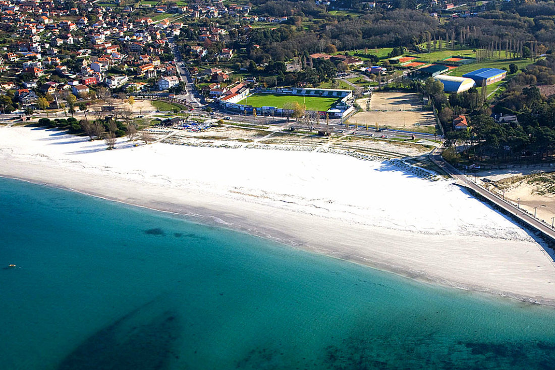 Praia de O Baluarte