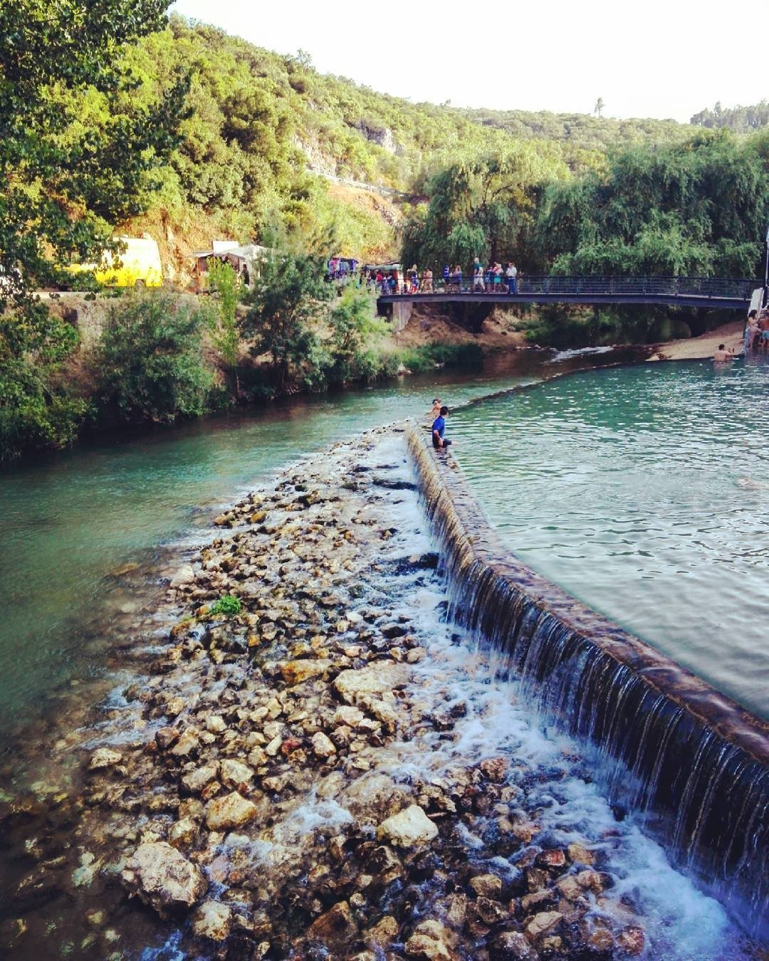 Praia fluvial do Agroal
