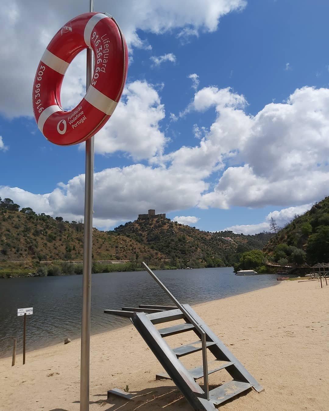 Praia fluvial do Alamal