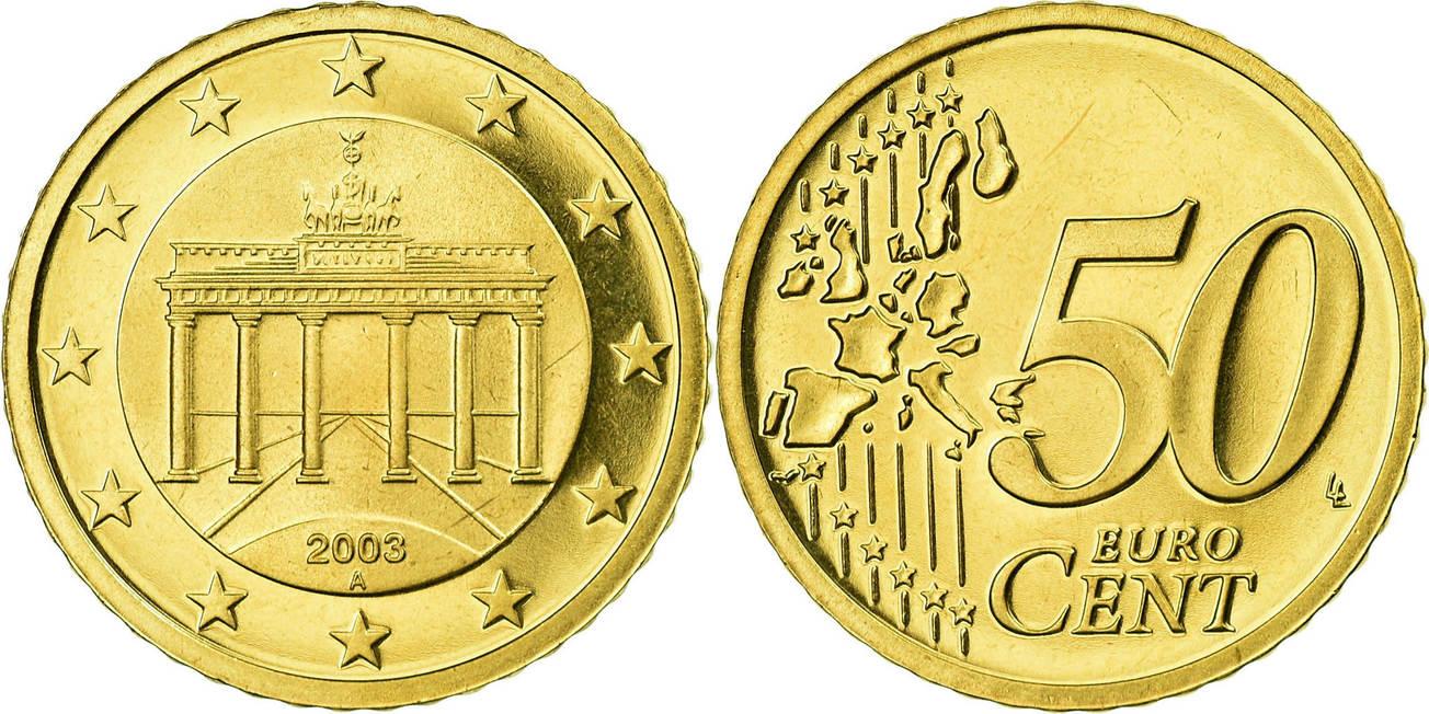 50 cêntimos Alemanha 2003
