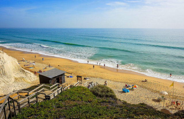 playas albufeira algarve portugal