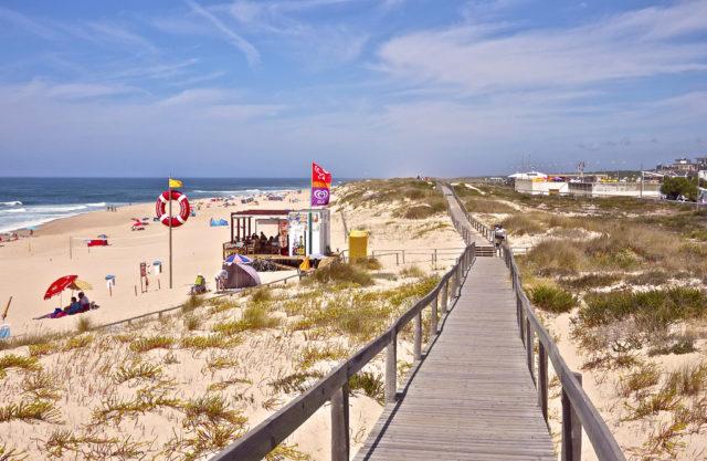 playas figueira da foz portugal
